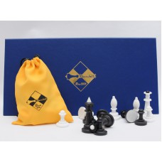 Шахматы настольные (пластмассовые)