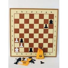 Шахматы демонстрационные № 1 (пластмассовые).