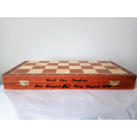 Chess set № 6 (with autograph champions of the world)